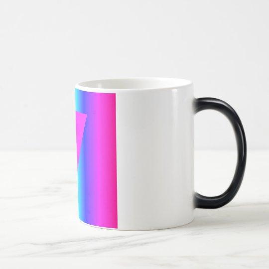 Arco iris homosexual taza mágica