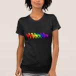 Arco iris Ibizan Camisetas