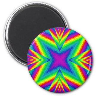 arco iris imán redondo 5 cm