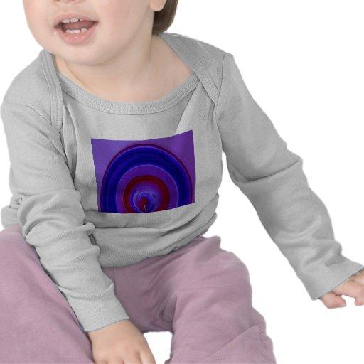 ARCO IRIS intrépido - rojo del azul real n Camiseta