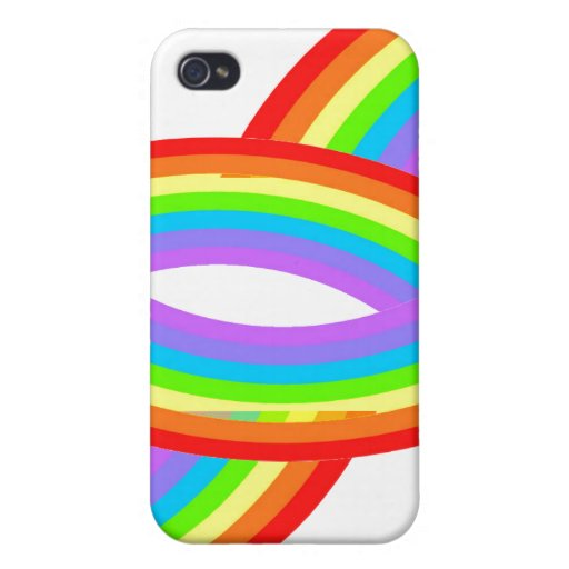 Arco iris iPhone 4 funda