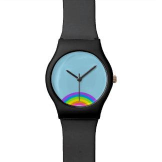 ¡Arco iris lindo! Reloj