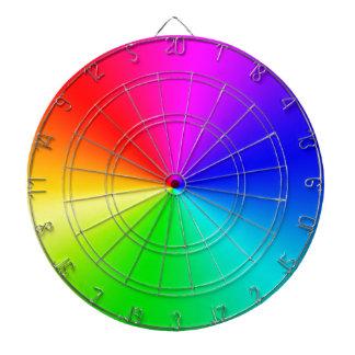 Arco iris lleno del espectro