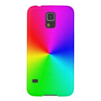 Arco iris lleno del espectro carcasa galaxy s5