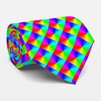 Arco iris lleno del espectro corbatas personalizadas