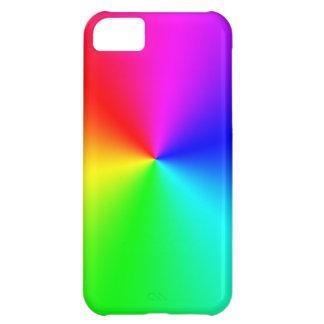 Arco iris lleno del espectro funda iPhone 5C