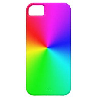 Arco iris lleno del espectro funda para iPhone SE/5/5s