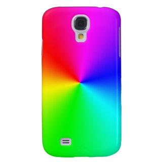 Arco iris lleno del espectro funda para samsung galaxy s4