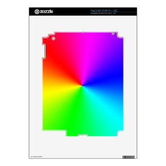 Arco iris lleno del espectro iPad 2 calcomanías