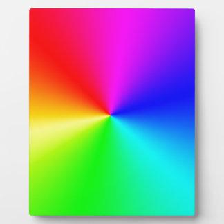 Arco iris lleno del espectro placas para mostrar