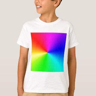 Arco iris lleno del espectro playera