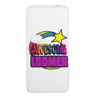 Arco iris Loomer impresionante de la estrella Funda Acolchada Para iPhone