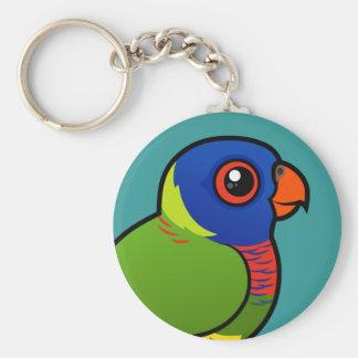 Arco iris Lorikeet de Birdorable Llavero Personalizado