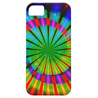 Arco iris maravilloso del teñido anudado iPhone 5 carcasa