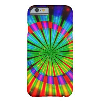 Arco iris maravilloso del teñido anudado funda de iPhone 6 barely there
