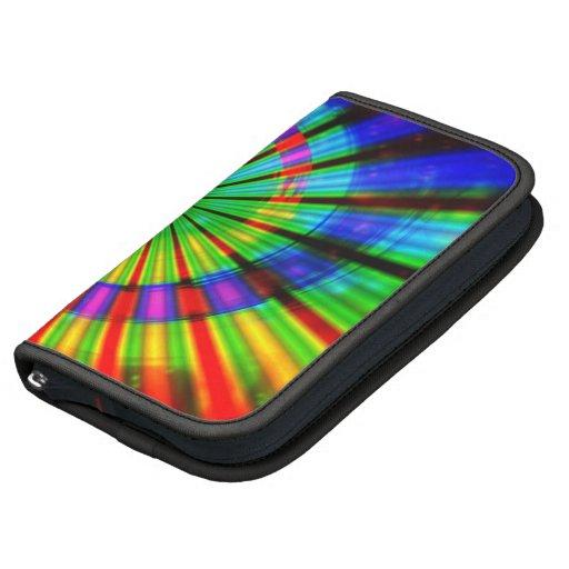 Arco iris maravilloso del teñido anudado planificadores