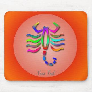 Arco iris Mousemat de la muestra de la estrella de Tapetes De Raton