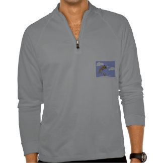 Arco iris Ninja Narwhal que vuela Camiseta