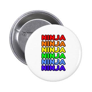 Arco iris Ninja Pins