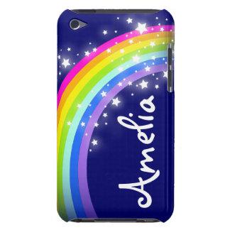 Arco iris nombrado en la caja de iPod de la marina iPod Touch Case-Mate Coberturas