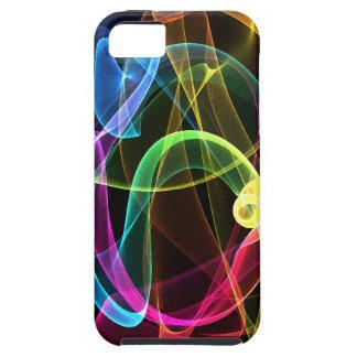 Arco iris orgánico iPhone 5 fundas