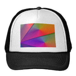 Arco iris Origami - remolinos del añil y de la mag Gorro