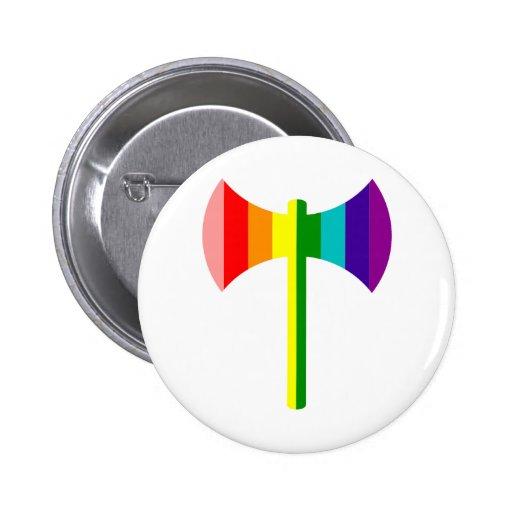 Arco iris original Labrys Pin