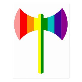 Arco iris original Labrys Postales