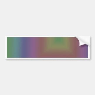 Arco iris oscuro pegatina de parachoque