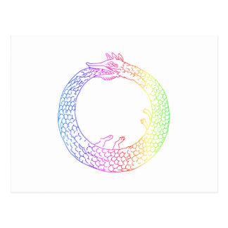 Arco iris Ouroboros Postal