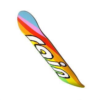 Arco iris tablas de patinar