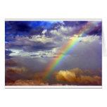 Arco iris perfecto tarjetón