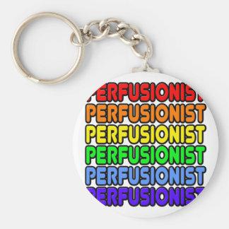 Arco iris Perfusionist Llaveros Personalizados