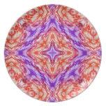 Arco iris plato de comida