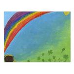 Arco iris postales