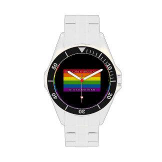 Arco iris - protesta de Sochi - mi sexualidad si… Relojes