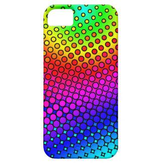 Arco iris psico iPhone 5 carcasas