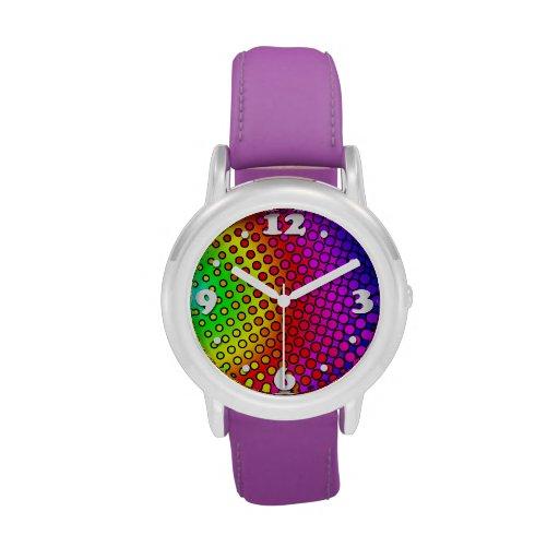Arco iris psico relojes