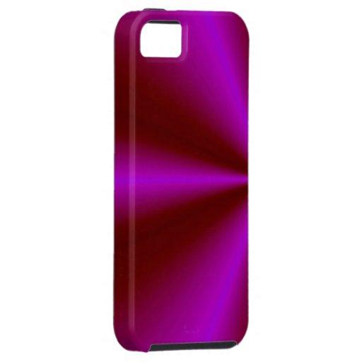 arco iris púrpura carmesí rosado iPhone 5 funda