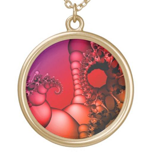 Arco iris que burbujea de fractales pendientes personalizados