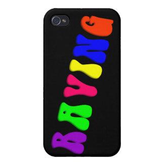 Arco iris QUE DELIRA iPhone 4/4S Carcasas