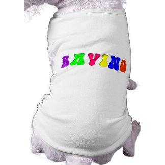 Arco iris QUE DELIRA Camiseta De Perrito