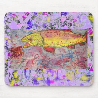 arco iris que persigue el goteo de la mosca tapete de ratón