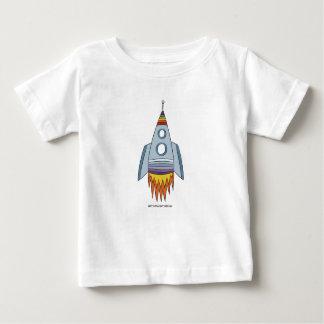 Arco iris Rocket del orgullo el | del bebé Playera De Bebé