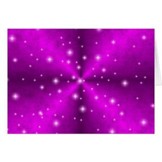 arco iris rosado en la óptica de cuero de Elefante Felicitacion
