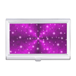 Arco iris rosado en la óptica de la piel del cajas de tarjetas de visita