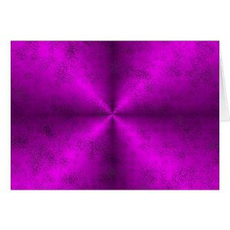 arco iris rosado en la óptica de la piel del elefa felicitación