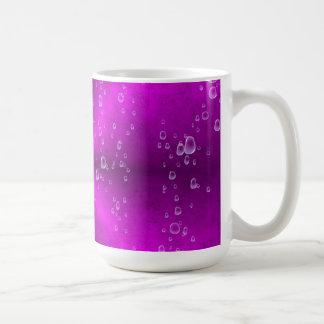 arco iris rosado en la óptica de la piel del elefa tazas de café