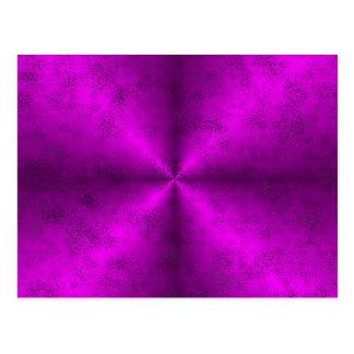 arco iris rosado en la óptica de la piel del postal