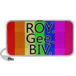 Arco iris RoyGeeBiv - LGBT Portátil Altavoces